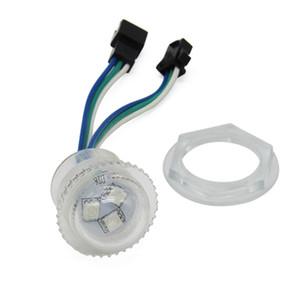 SMD (5050)의 RGB는 26mm 12V ws2811 화소 LED 모듈 빛 IP68의 SMD를 Chrismas는 RGB 램프 광원 디지털 풀 컬러 모듈 전구 조명 주도 3leds