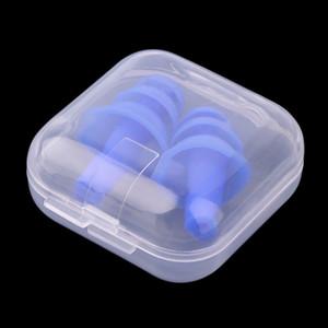 لينة سيليكون سدادات الأذن عزل الصوت سدادات الأذن حماية مكافحة الضوضاء الشخير النوم المقابس للحد من الضوضاء السفر