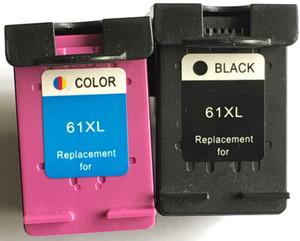 güzel kalite Uyumlu Mürekkep Kartuşu HP61 yazıcıda kullanım için HP 2010/2060/1510/3050 CH561 / 562W 2 adet / takım