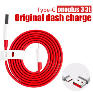 100% оригинал OnePlus 3 3T / 1 + 5 5Т DASH кабель 100CM 4A Быстрая зарядка линии передачи данных кабель синхронизации для OnePlus 3т USB 3.1 Кабель круглого сечения
