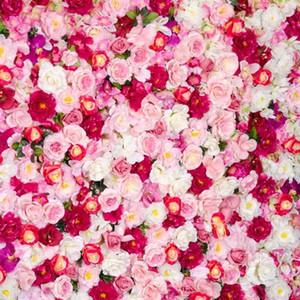10x10 피트 화이트 핑크 레드 장미 사진 배경 결혼식 로맨틱 꽃 어린이 키즈 Floral Background for Photo Studio