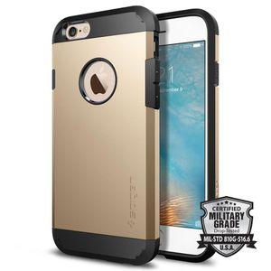 Дело ПМГ Spigen панцыря для iphonex/хз ХС максимум 8 плюс 7 плюс/6С 6 плюс 5/5s Samsung С8 s8plus ПК ТПУ двойной слой мобильный телефон чехол Opp сумки