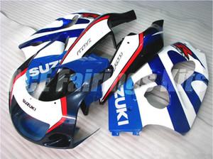 Kostenlose Geschenke Neue Motorverkleidungssätze passen für SUZUKI SRAD GSXR750 GSXR600 96-00 1996 1997 1998 1999 2000 R600 R750 Alle Arten von Farbe S1