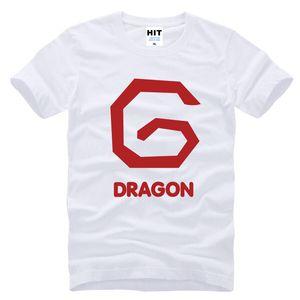 Прилив бренд BIGBANG BB GD G-dragon печатных мужская MenTshirt мода 2017 с коротким рукавом хлопок футболка Tee Camisetas Hombre