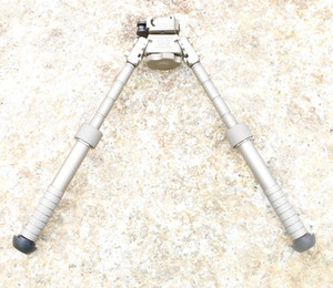 CNC Making BT10-LW17 V8 Atlas 360 degrees Adjustable Precision Bipod With QD Mount With Markings In Tan