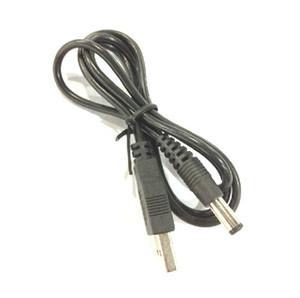 Carregador Cabo 60cm / 2FT USB para DC3.5mm DC 3,5 milímetros plug / 100pcs branco cabo Jack DC3.5 Poder / lot