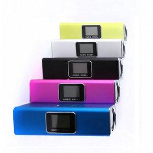 원래 음악 천사 휴대용 스피커 LED 스크린 디지털 스피커에서 오디오 FM 라디오 USB의 SD / TF JH-MAUK5B