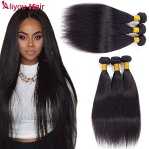 Best Sale Items 6 Bundle Deals Brazilian Peruvian Malaysian Indian Straight Virgin Remy Human Hair Weave Bundles Top Hair Extensions For you