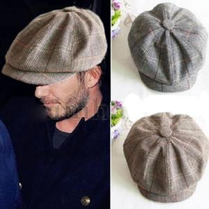 Cappello del berretto del piano del sole del golf di Sun Country Gatesby Tweed del cappello del ragazzo del panettiere del ragazzo del panettiere delle donne all'ingrosso degli uomini Trasporto libero