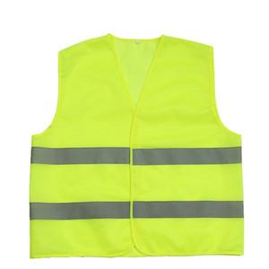 Hot travail de sécurité construction gilet avertissement trafic réfléchissant travail gilet vert réfléchissant vêtements de sécurité dhl gratuitement