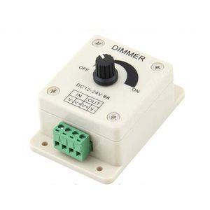 Диммер 12 В 8А 96 Вт один цвет ручка LED диммер контроллер для 3528 5050 5630 3014 диммеры