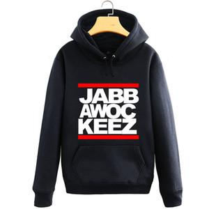 Atacado- Nova Marca de Vestuário Hoodies Men Sweatshirt Jabbawockeez Hip Hop Moletom Men Treino Homens Unisex hoodies Moleton Masculino