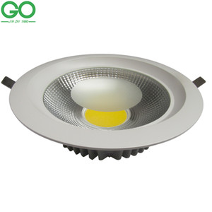 Downlight LED Teto 7 W 10 W 15 W 20 W 30 W Dimmable Recesso Down Light Lâmpada Do Teto 110 V 120 V 130 V 220 V 230 V 240 V Recesso Holofotes