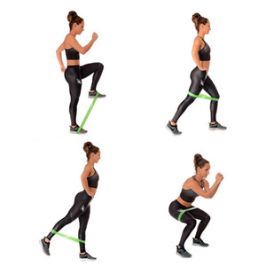 2017 caldo 100% naturale 600 * 50 * 0.7mm in lattice body building fitness esercizio ad alta tensione muscolare casa palestra per la gamba allenamento con i pesi alla caviglia
