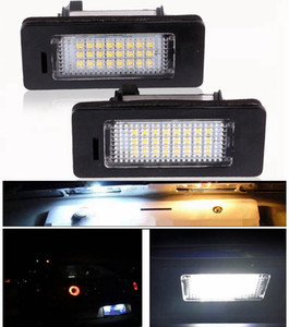2 UNIDS / SET ERROR LIBRE COCHE LED LED Placa LED Lámpara de luz 12V White 6000K para BMW E39 E60 E82 E90 E92 E93 M3 E39 E60 E70 X5 E60 E61 M5 E88