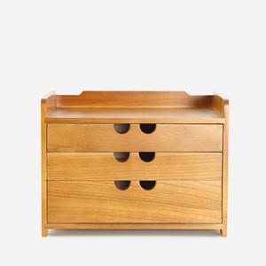 cassetta degli attrezzi cassa di immagazzinaggio in legno cassetto detriti cosmetici scatola di immagazzinaggio bin gioielli ufficio regalo creativo casa