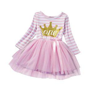 뜨거운 여자 드레스 유아 공주 의상 첫 번째 생일 파티 드레스 투투 드레스 여자 옷