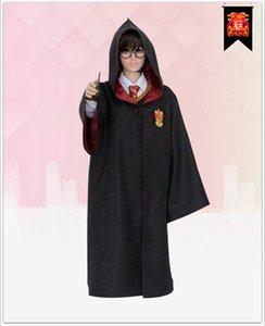 Hohe Qualität Harry Potter Robe Gryffindor Cosplay Kostüm Kinder Erwachsene Harry Potter Robe Mantel 4 Arten Halloween Geschenk nur Robe ohne Krawatte