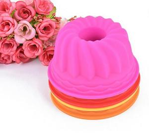 Abóbora Forma 3D Bolo Cup Silicone Muffin Cupcake Mould Ferramentas De Cozimento Ferramentas de Decoração Do Bolo Para Bakeware 6.5 * 3 CM