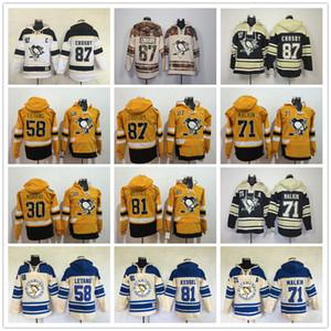 2017 Pittsburgh Penguins sudaderas con capucha Evgeni Malkin Phil Kessel Sidney Crosby Kris Letang Matt Murray Estadio Series Hockey Sudaderas con capucha
