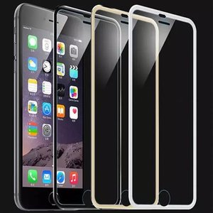 0.26mm 9H 3D Curved Tempered Glass For iPhone 7 7Plus Luxury Explosion Proof Screen Protector Film Toughened Membrane Newest