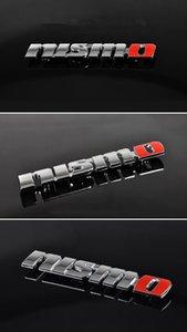 20 PC / Car Pack-Styling Colle métal Nismo Emblem Badge voiture Autocollants autocollant Accessoires Automobile