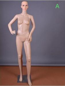 Atacado moda sexy 3 estilo PE casamento corpo feminino modelo adereços janela exibição cosmetologia costura-manequim para roupas B587