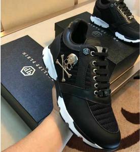 Мужская высококачественная кожа pp череп мужская повседневная обувь мужская спортивная обувь-0041