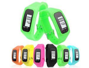 LED الرقمية ووتش الرياضة عداد الخطى تشغيل الخطوة يمشي مسافة عداد السعرات الحرارية سوار المعصم ووتش