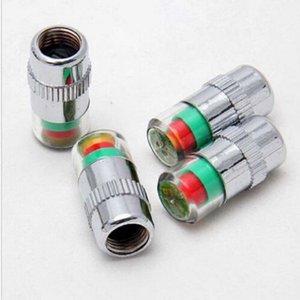 4 Unids Monitor de Presión de Neumático de Coche Válvula Vástago Tapas Sensor M00002 VPWR