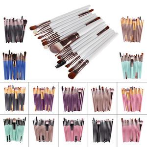 Makeup Brushes Set Kits 15Pcs Professional Eye shadow Foundation Blush Powder Blending Eyebrow Brush Cosmetic Make Up Brushes Tools