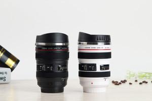 Творческий объектив камеры кружка из нержавеющей стали лайнер эмуляции объектив камеры кружки кофе Чашка чая новизна подарки путешествия колбы Thermocup 400 мл