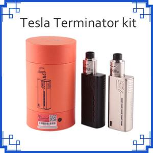 Tesla Terminator Kiti 90 W TC Başlangıç Kiti VW 18650 Pil Kutusu Mod Antman 22 RDA Atomizer 0268057
