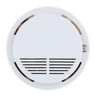 Bağımsız Fotoelektrik Duman Alarmı Yangın Duman Dedektörü Yüksek Hassasiyet Sensörü Ev Güvenlik Sistemi Ev Mutfak için perakende kutusunda