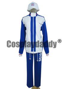 Prince of Tennis Echizen Ryoma Uniforme scolaire Seigaku Sport Costume Cosplay Costum