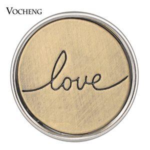 NOOSA الزنجبيل المفاجئة الحب سيناريو البرونزية 18MM المفاجئة سحر VOCHENG VN-1804