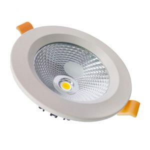 3-30W Recesso LEVOU Luz de Teto Bridgelux COB LED Downlight 2.5-8 Polegada Redondo Teto LED Downlight com 60 Ângulo de Visão e Preço de Fábrica