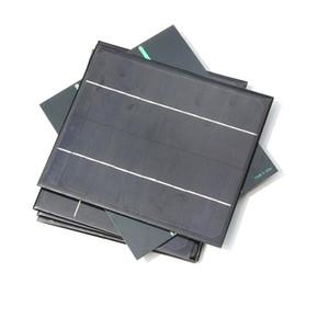 High Quality Monocrystalline Solar Cell Modul 6W12V DIY Solar Panel Charger Solar Module Education Kits170*200*3MM 5PCS Lot Free Shipping