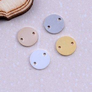 도매 고품질 황동 골드 / 실버 색상 태그 라운드 매력 보석에 대 한 부드러운 디스크 동전 라운드 매력 펜 던 트 DIY 만들기 부품