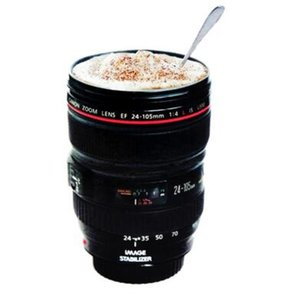 Creative Camera objectif tasse à café Canons Cup 2 génération de Len Tasses pour Canon Photographie Ventilateurs Gadgeterie