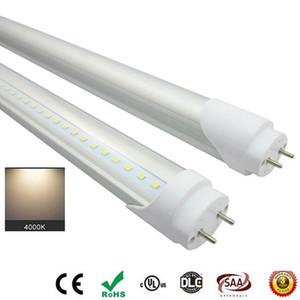 Ampoules LED Tubes 4 Pieds FT 4FT Tube LED 18W 25W T8 Lumière fluorescente 4000K Blanc froid usine luminosité gros, d'économie d'énergie