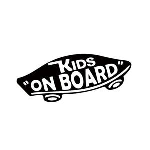أطفال داخلية على متن طفل على متن الفينيل صائق قبالة الجدار طفل سكيت سيارة التصميم مضحك سيارة ملصقا لنافذة jdm