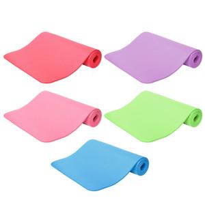 Gros-Fitness 10mm Épaisseur Non-Slip Yoga Tapis Sport Pad Gym Pilates Mats Tapis pliables pour musculation Exercices de formation
