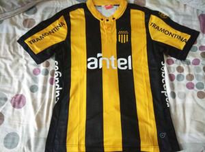 15 nouvelles 16 Uruguay Camiseta Club Atletico Penarol Jersey 2015/2016 MAN adultes T-shirt de football Vêtements de plein air maillots de football à domicile shirt
