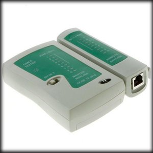 by dhl or ems 50 pieces RJ45 RJ11 RJ12 CAT5 UTP Network LAN Cable Tester Networking Tool