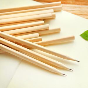 Moda HB Lápis não-tóxicos Lápis Eco-friendly Office Standard para Escola Natural Wood Lápis Escrevendo o estudante Supplies