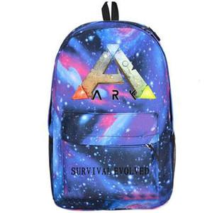 Notte blu zaino giorno pacchetto ARK sopravvivenza Evolved sacchetto di scuola Gioco packsack tempo libero zaino Sport zainetto zaino Outdoor