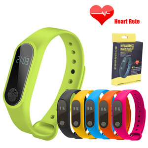 M2 Smart Bracelet Pedometer Heart Rate Wristband Sleep Monitor Sport Smart Watch fitness Tracker watch For IOS Android