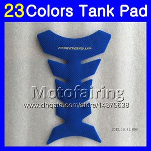 Protector del cojín del tanque del gas de la fibra 3D de 23 colores 3D para YAMAHA TZR-250 3MA TZR250 88 89 90 91 TZR 250 1988 1989 1990 1991 etiqueta engomada del casquillo del tanque 3D