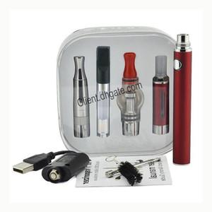 Evod 4 in 1 Battery Starter Kit 4in1 Multiple Vaporizer Vape Pen EVOD Battery 1100 900 650mah MT3 Dry Herb WAX FreeDHL
